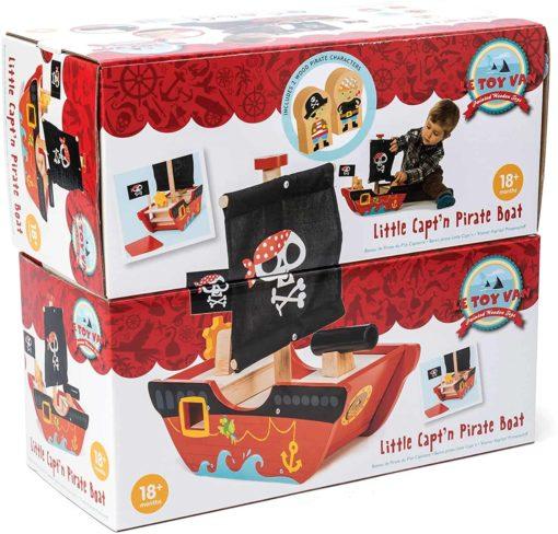 Le petit bateau de capitaine pirate - Le Toy Van