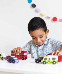 Ensemble de voiture de Londres - Le Toy Van