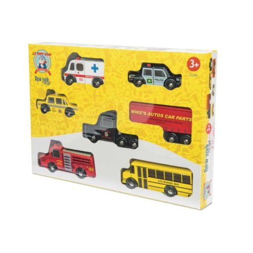 Ensemble de voitures de New York - Le Toy Van