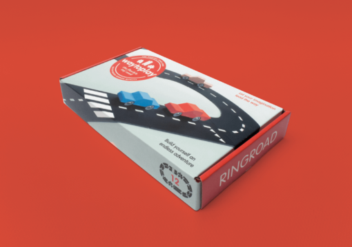 Flexible Toy Road Parts Ringroad - Waytoplay