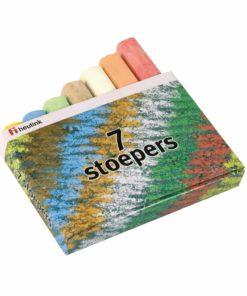 Sidewalk chalk: box of 7 - Arts & Crafts Heutink