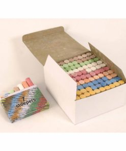 Sidewalk chalk: box of 100 – Arts & Crafts