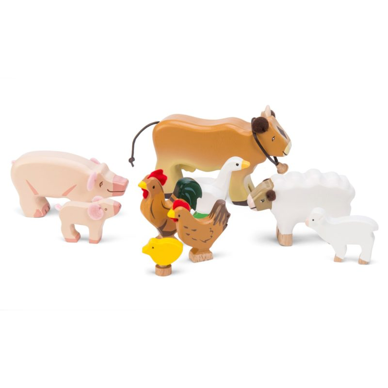 Wooden Sunny Farm Animals - Le Toy Van
