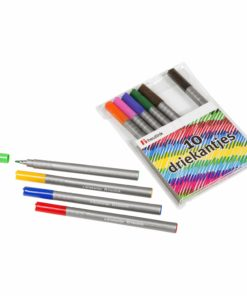 Triangular felt tip pens: pouch of 10 - Arts & Crafts