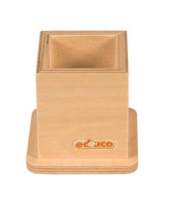 Wooden pencil holder: blank - Educo