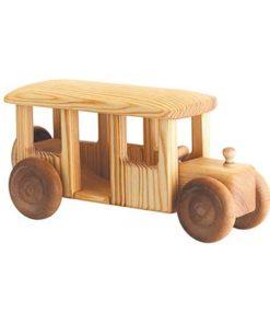 Large wooden toy Omnibus - Debresk Sweden
