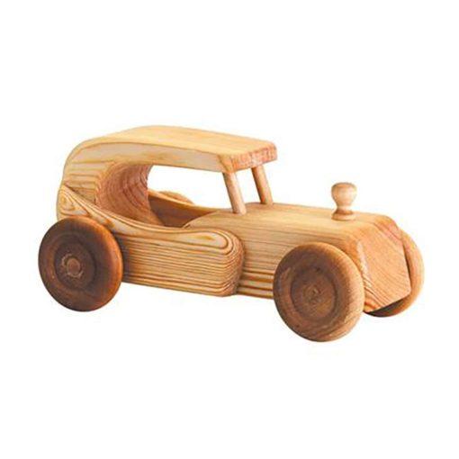 Grande voiture en bois style coupé - Debresk - Teia Education Suisse
