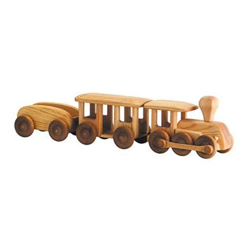 Grand train en bois - Debresk - Teia Education Suisse