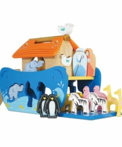 Sustainable wooden baby development toy Noah's Ark Shape Sorter - Le Toy Van Noah's Ark Shape Sorter - Le Toy Van