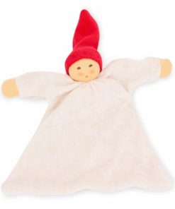 Nuckel Blanket Doll With Cherry Hat - Nanchen Natur Puppen - Teia Education Switzerland