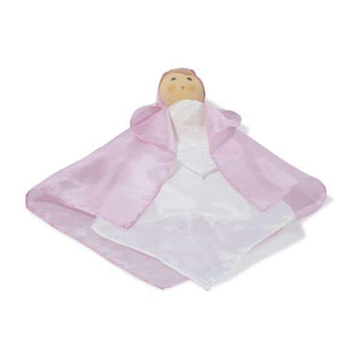 Silk Doll - Pink - Nanchen Natur Puppen - Teia Education Switzerland