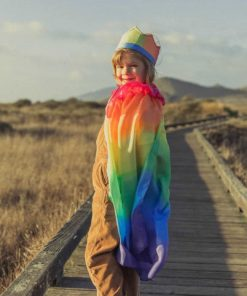 Silk cape rainbow - Sarah's Silks