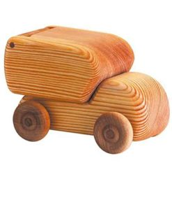 Petite camionette de livraison en bois - Debresk - Teia Education Suisse