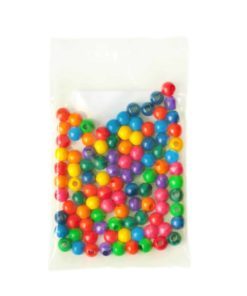 Wooden Threading Beads: 1 cm - SINA Spielzeug