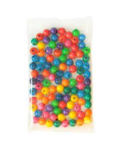 Wooden Threading Beads: 2 cm - SINA Spielzeug