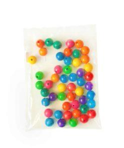Wooden Threading Beads: 3 cm - SINA Spielzeug