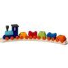 Handmade Wooden birthday toy train - Glückskäfer