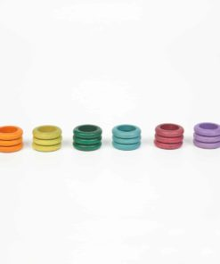 18 rings (6 colours: no basic) – Grapat