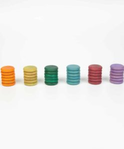 36 coins (6 colours: no basic) – Grapat