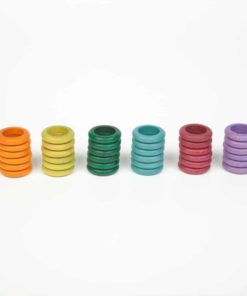 36 rings (6 colours: no basic) – Grapat