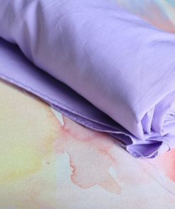Cotton blossom cloth - pastel lavender - Sarah's Silks