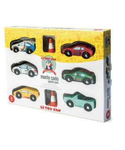 Les voitures de Monte Carlo /Voitures-jouets en bois durable - Le Toy Van
