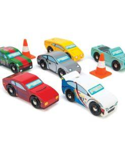 Voitures-jouets en bois durable Les voitures de Monte Carlo - Le Toy Van