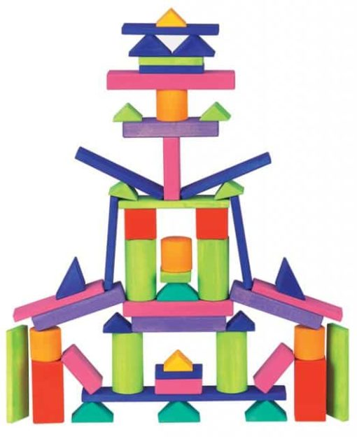 Provence building blocks set large - Glückskäfer