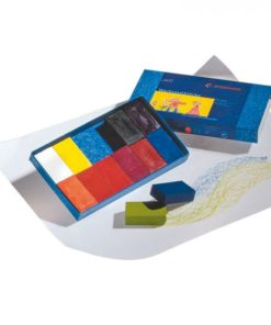 Waldorf art supplies wax block crayons (12) - Stockmar