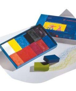 Waldorf art supplies wax block crayons (12) - Stockmar