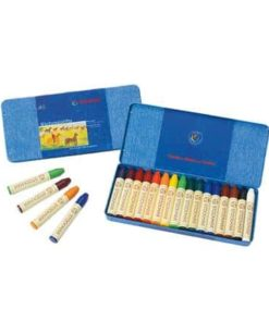 Waldorf art supplies wax stick crayons (16) Stockmar