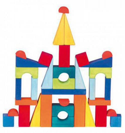 Toscana building blocks set large - Glückskäfer