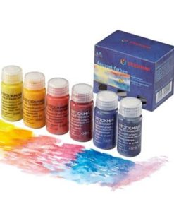 Waldorf art supplies Watercolour paints assortment: 6 colours - Stockmar