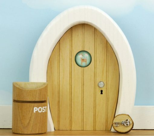Dream Door Natural Wood - Droomdeurtjes - Teia Education Switzerland