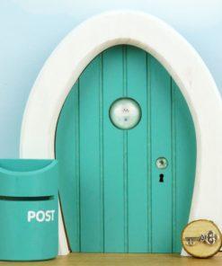 Dream Door Sea Green (turquoise) - Droomdeurtjes - Teia Education Switzerland