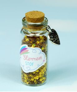bio-degradable glitter stars Fairy Stardust Gold - Droomdeurtjes - Teia Education Switzerland