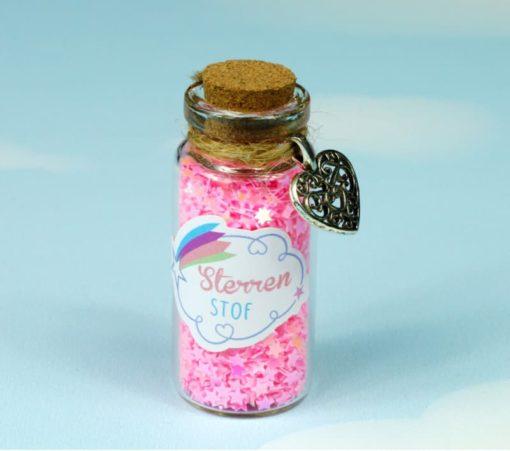 bio-degradable magical glitter stars Fairy Stardust Pink - Droomdeurtjes - Teia Education Switzerland