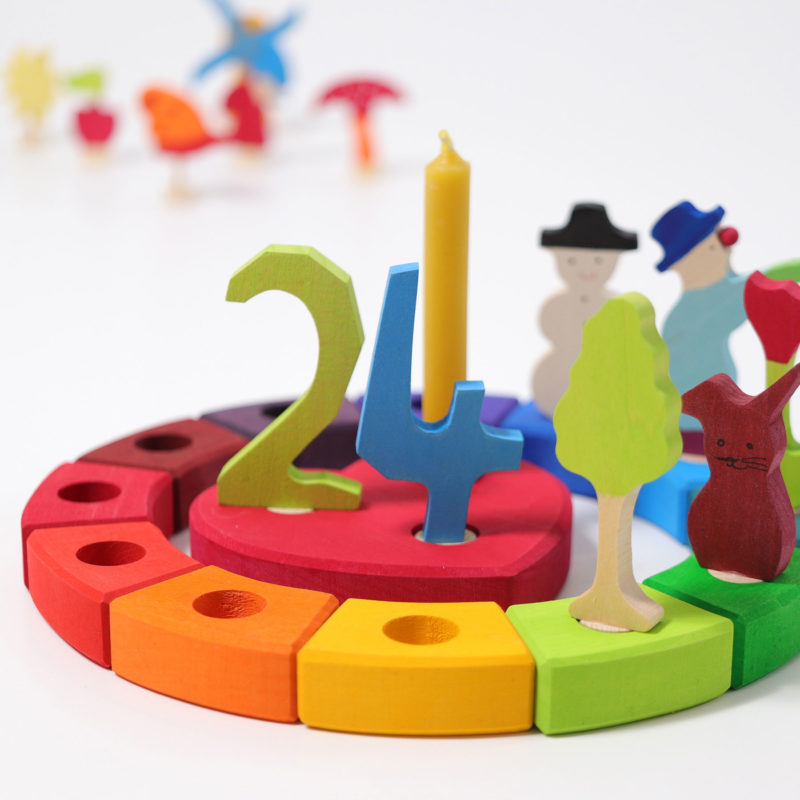 Grimm's Rainbow Birthday Ring- Teia Education Switzerland