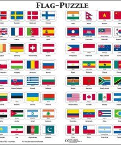 Maxi flag puzzle: English - Larsen