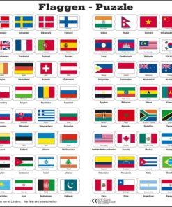 Maxi flag puzzle: German - Larsen
