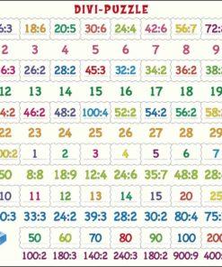 Maxi math puzzle: division - Larsen