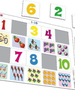 Maxi math puzzle: learn to count from 1-10 - Larsen