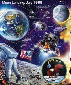 Maxi puzzle Apollo 11 - Larsen