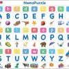Maxi puzzle alphabet, 26 upper and lower case letters: French - Larsen