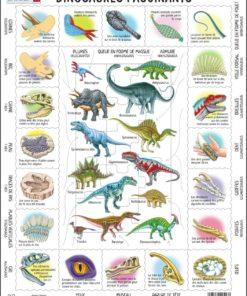 Maxi puzzle fascinating dinosaurs: French - Larsen