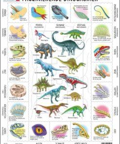 Maxi puzzle fascinating dinosaurs: German - Larsen