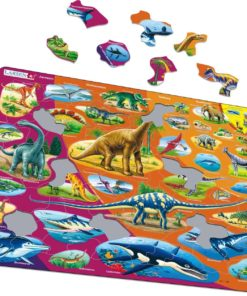 Maxi puzzle natural history triassic period to today: English - Larsen
