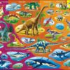 Maxi puzzle natural history triassic period to today: German - Larsen