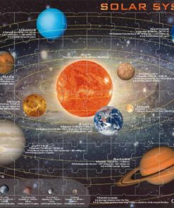 Maxi puzzle solar system: English - Larsen