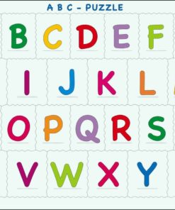Maxi puzzle the alphabet upper case - Larsen
